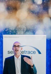 Stefan Hessenbruch | iGrafx speaking at Servicetrace Robotic Days 2019