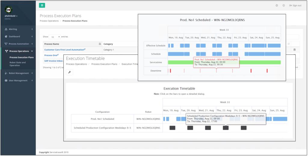 execution-timetable-runtime-analysis-servicetrace-xceleratorone